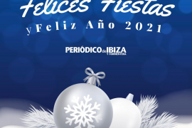 Periódico de Ibiza y Formentera les desea felices fiestas