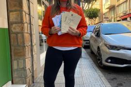 Más de 300 tarjetas navideñas para los mayores de las residencias de Ibiza