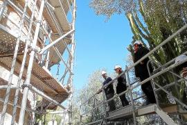 Sant Josep inicia los trabajos de rehabilitación de la torre de Can Curt