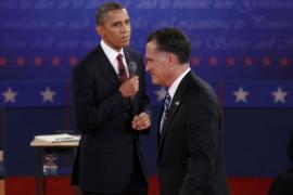Obama pasa al ataque y gana un tenso debate en el que Romney mantuvo el tipo