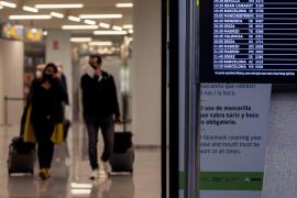 Los aeropuertos de Baleares operan 132 vuelos este viernes, día de Navidad