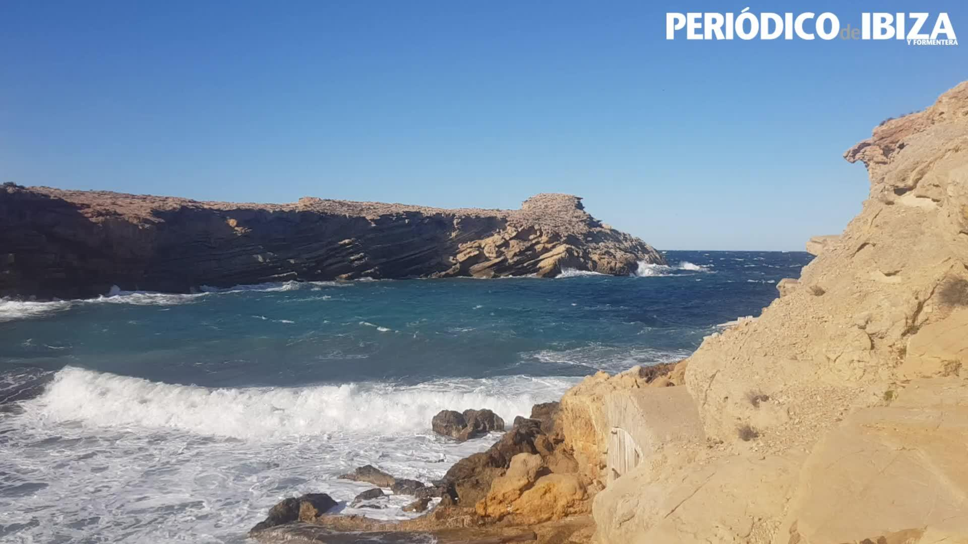 Aviso amarillo en Ibiza y Formentera por fenómenos costeros