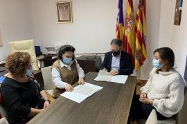Sant Josep renueva su colaboración con diversas entidades sociales de la isla de Ibiza