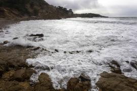 La borrasca 'Bella' deja fuertes vientos en las Pitiusas