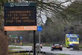 Reino Unido registra un récord histórico de nuevos contagios, 41.385