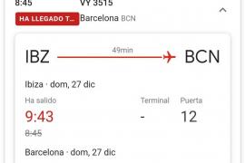 Un avión se queda sin asistencia en tierra en el aeropuerto de Ibiza por un fallo en los turnos del personal