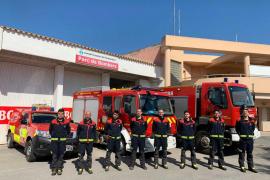 Los bomberos de Formentera realizaron 163 servicios en 2020