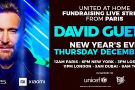 David Guetta dará un concierto por redes en Nochevieja desde la Pirámide del Louvre