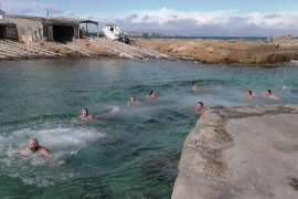 Chapuzón en Formentera