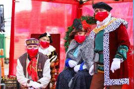 Los Reyes Magos se adaptan a la pandemia del coronavirus en los municipios de la isla