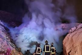 Extinguido un incendio en Cala Tarida