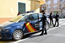 Cuatro detenidos al ser sorprendidos robando con un bebé en brazos en un piso de Palma