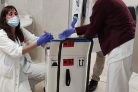 Llegan a Ibiza cerca de 1.000 vacunas contra la COVID