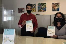 Las vendas protagonizan el calendario del 2021 del Consell de Formentera