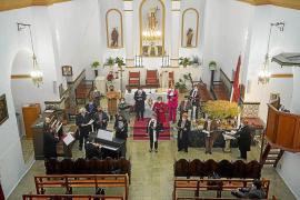 Música, misa y solidaridad, juntos en la iglesia de Sant Joan
