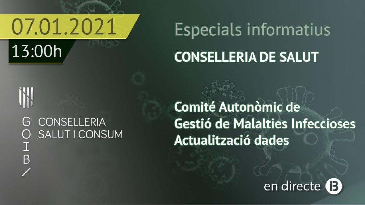 Directo: Rueda de prensa con las últimas novedades del coronavirus en Baleares