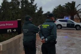 La Guardia Civil denuncia a 13 personas que participaban en una fiesta en Formentera