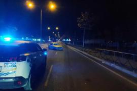 Denunciado tras chocar contra un taxi en Vila y negarse al test de alcohol