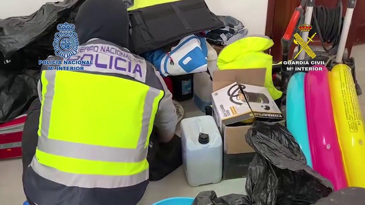 Golpe policial al mayor grupo dedicado al tráfico de drogas sintéticas con conexiones en Ibiza