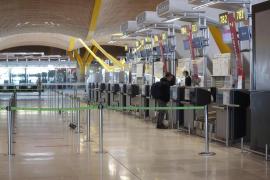 Aena reinicia gradualmente la operatividad de Barajas