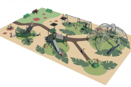 Vila inicia las obras de renovación del parque infantil de Ca n'Escandell