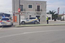 Los controles policiales se intensifican en Vila para vigilar el cumplimiento de las normas
