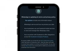 ¿Te afectan los cambios en las normas de uso de WhatsApp?
