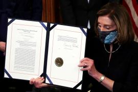 La Cámara de Representantes da luz verde al 'impeachment' contra Trump