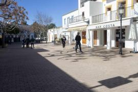 El primer día de Ibiza en nivel 4 de restricciones, en imágenes.