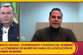 Jorge Javier Vázquez, a Ignacio Aguado: «¿Isabel Díaz Ayuso es así o se lo hace?»