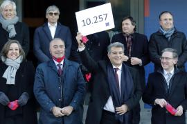 Laporta, Font y Freixa proclamados candidatos a la presidencia del Barça