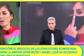 Anabel Pantoja le dedica una peineta a sus compañeros: «¡Se acabó!»