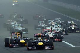 Alonso acaba segundo en la India por detrás de Vettel