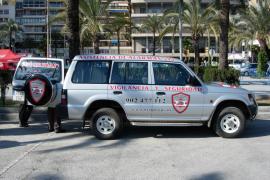 Profesionales de GPS sorprenden en Ibiza a un ladrón en pleno robo