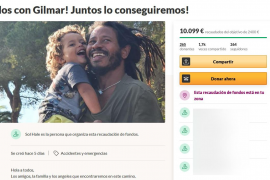 Una campaña solidaria para ayudar a un enfermo en Ibiza supera las expectativas en pocas horas