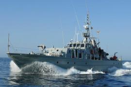 'Formentor' llega hoy a Ibiza dentro de sus tareas de vigilancia en Baleares