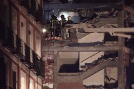 Aumentan a cuatro los fallecidos en la explosión de un edificio en Madrid tras la muerte de un sacerdote