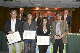 Entrega de los Premios 2012 de la CAEB de prevención de riesgos laborales