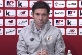 Marcelino: «Lo mejor del partido fue el resultado»