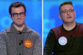 La rivalidad de Luis y Pablo en 'Pasapalabra' llega a su fin