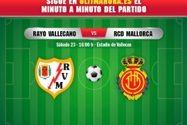 DIRECTO | Rayo Vallecano-Real Mallorca