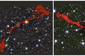 Descubren dos 'bestias cósmicas': podrían ser los objetos más grandes vistos en el universo
