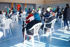 Sant Antoni se vuelca de nuevo en la segunda jornada de cribado en Ses Païsses