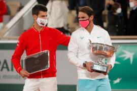 El dardo de Nadal a Novak Djokovic