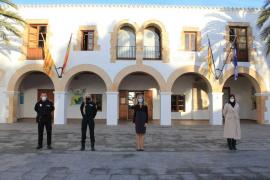 Santa Eulària toma posesión a un agente de Policía Local