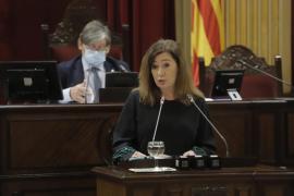 Armengol reclama al Gobierno potestad para confinar y adelantar el toque de queda