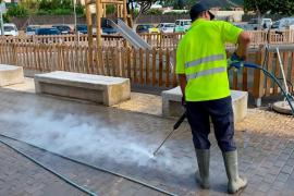 Sant Josep incrementa este año un 26% la limpieza de las calles del municipio