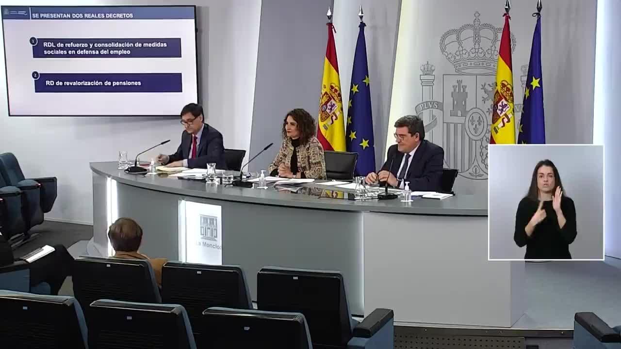 El Consejo de Ministros aprueba la prórroga de los ERTE y la prestación de autónomos hasta el 31 de mayo