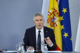 Cargan contra Interior y Marlaska por un tuit electoralista para despedir a Illa