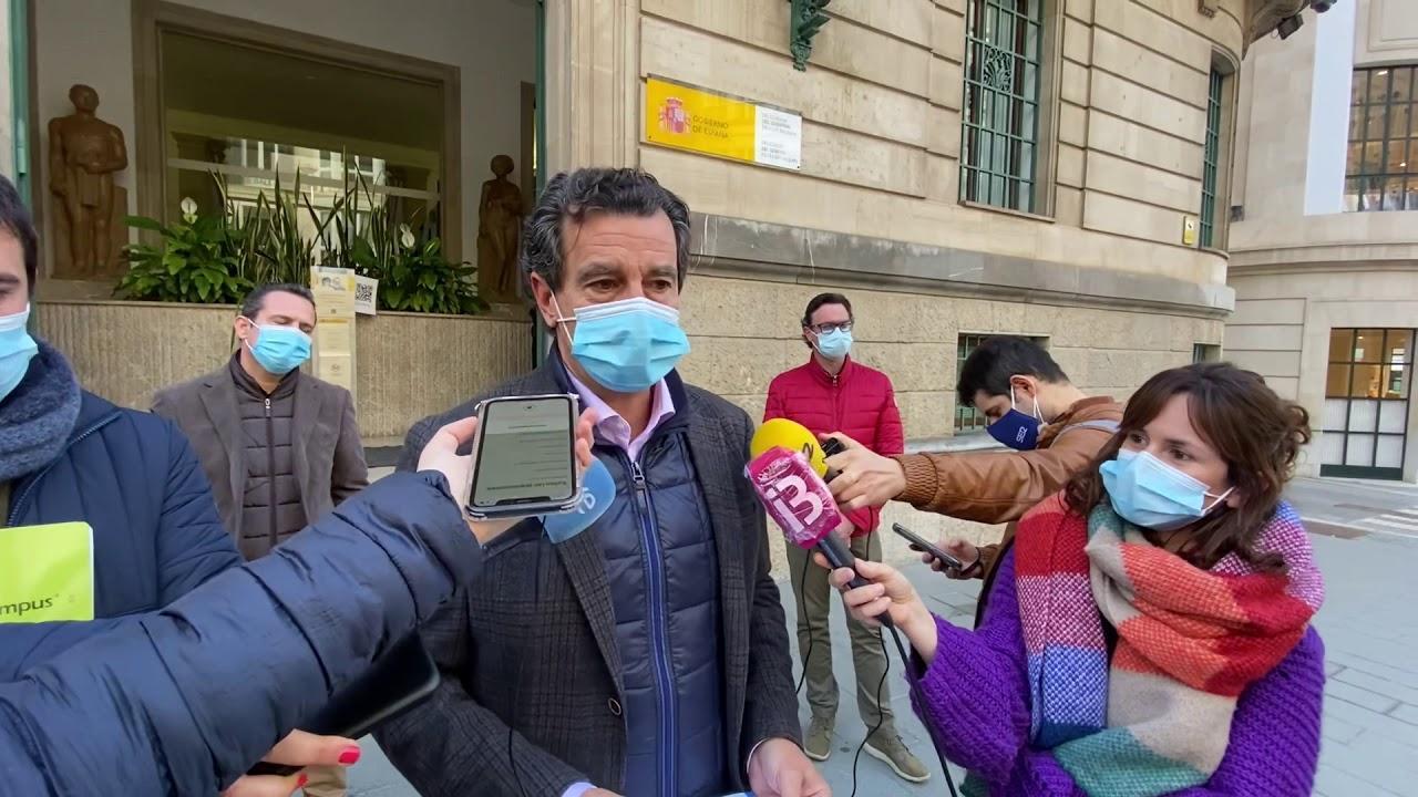 Company presenta ante Delegación del Gobierno «su queja enérgica ante la falta» de vacunas recibidas por Baleares